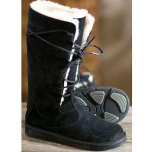 UGG Whitley Style 5122 Tall Black Boots Size 5